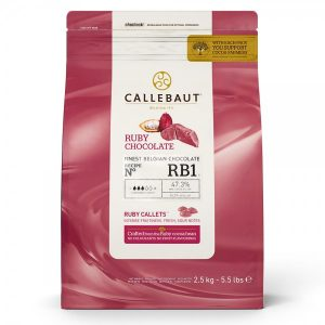 Paquete de Chocolate Ruby Callebaut